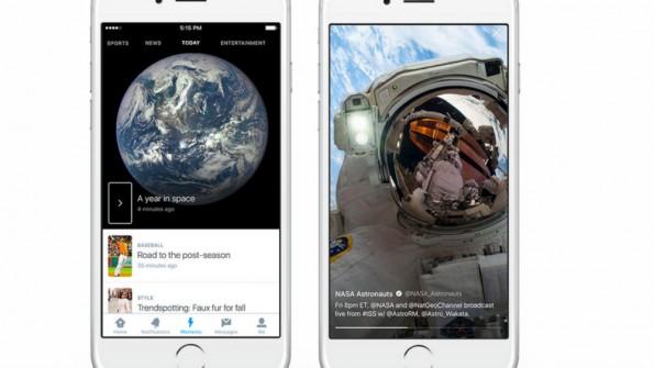 """Mit """"Moments"""" schafft Twitter einen Nachrichtenüberblick, der abonniert und geteilt werden kann. (Bild: Twitter)"""