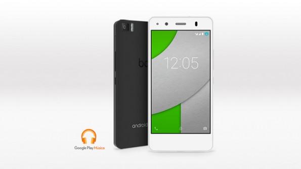 Das A4.5 von BQ kostet in Deutschland 187 Euro und stellt den Start des Android-One-Programms dar. (Foto: BQ)