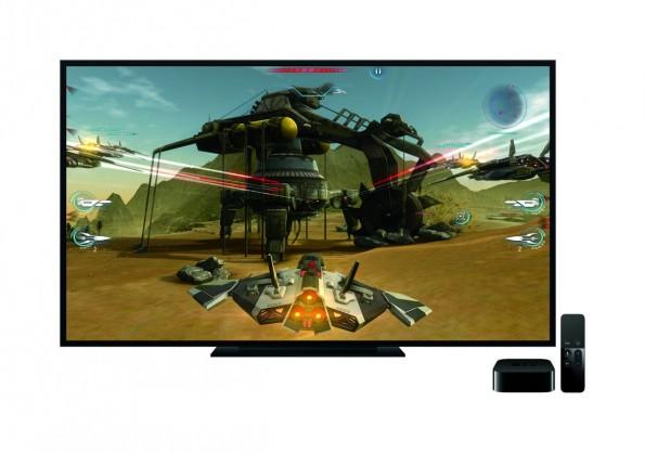 Auch im Bereich Gaming wurde die vierte Generation von Apple TV ordentlich aufgebohrt. (Bild: Apple)