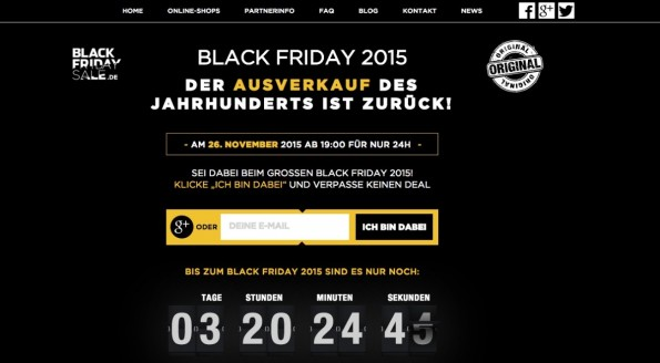 (Screenshot: Black-Friday.de)