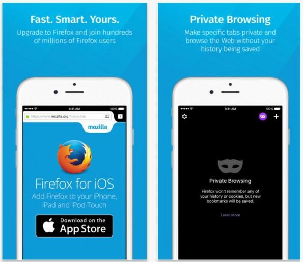 Mozilla stellt den Firefox-Browser in einer iOS-Version zur Verfügung. (Screenshot: iTunes/t3n.de)