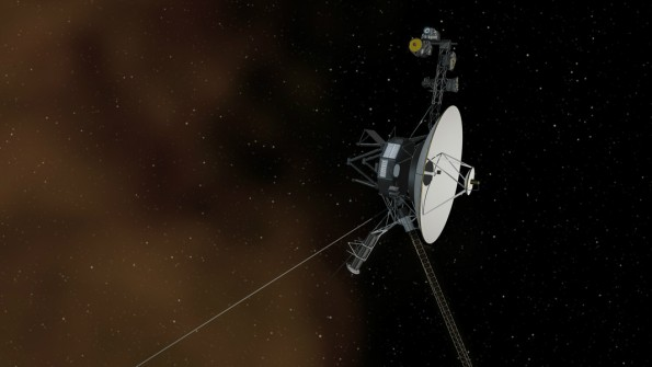 NASA-Sonde Voyager 1 befindet sich im interstellaren Raum. (Foto: NASA/JPL-Caltech)