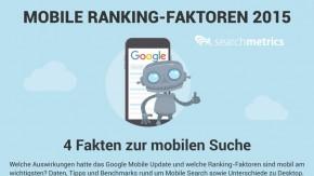 SEO: Mobile-Ranking-Faktoren 2015 – das gilt es zu beachten [Infografik]