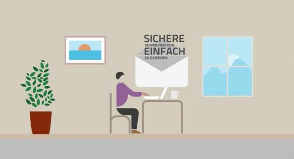 Volksverschlüsselung: Diese Software soll auch unversierten Nutzern Ende-zu-Ende-Verschlüsselung ihrer E-Mail-Kommunikation ermöglichen. (Screenshot: Fraunhofer SIT/t3n.de)