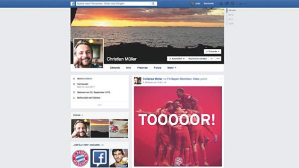 Christian Müller auf Facebook. Ist das der deutsche Durchschnitts-Digitalo? (Grafik: JvM)