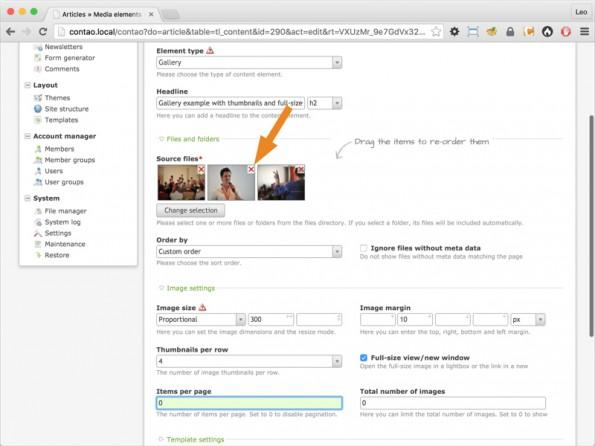 Die Dateien lassen sich ab Contao 4.1 durchsuchen. (Screenshot: contao.org)