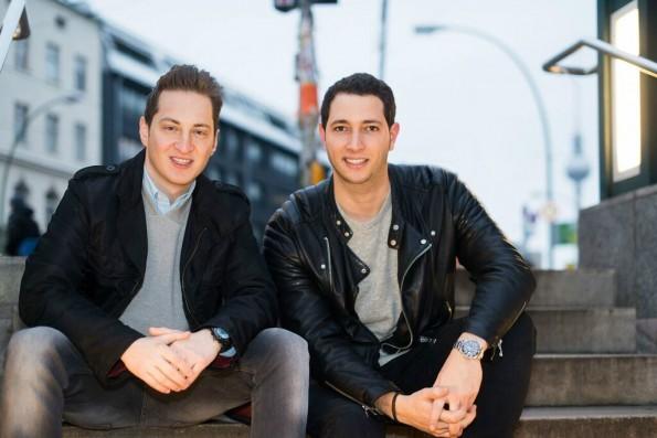 Die Cookies-Gründer Garry Krugljakow und Lamine Cheloufi: Beide haben vorher bei Number26 gearbeitet. (Foto: Presse)