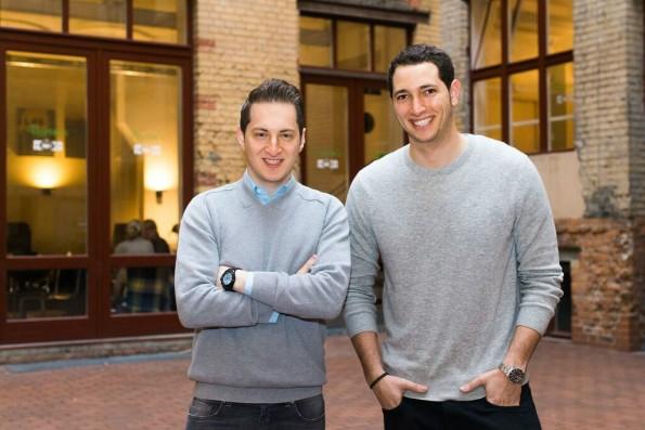 Die Cookies-Gründer Garry Krugljakow und Lamine Cheloufi: Beide haben vorher bei Number26 gearbeitet. (Foto: Cookies)