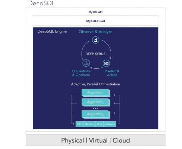 DeepSQL soll Big-Data-Performance steigern. (Grafik: DIS)