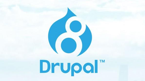 Drupal 8 ist da. (Screenshot: drupal.org)