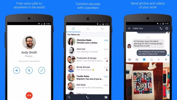 Facebook at Work erhält mit Work Chat eine Messenger-App. (Screenshots: Facebook)