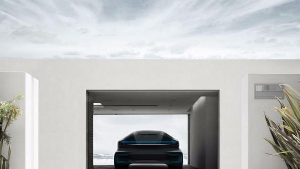 Das erste E-Auto von Faraday soll schon in zwei Jahren erhältlich sein. (Bild: Faraday Future)
