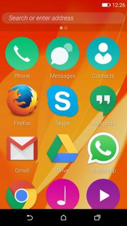 Firefox-OS auf einem Android-Smartphone. (Bild: Mozilla)