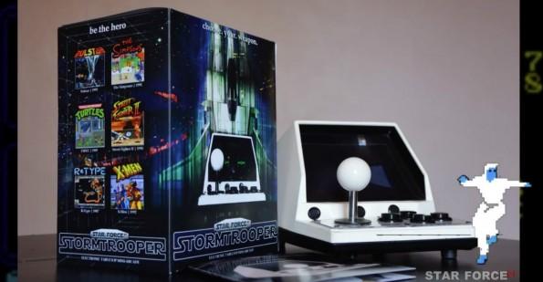 Star Force Pi ist eine Retro-Konsole auf Basis des Raspberry Pi. (Foto: Kickstarter)