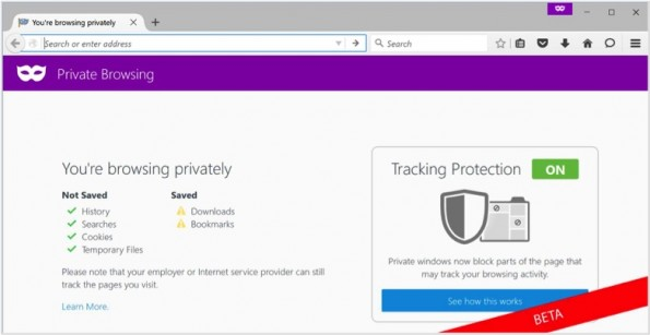 Die Tracking Protection von Mozilla. (Screenshot: Mozilla)