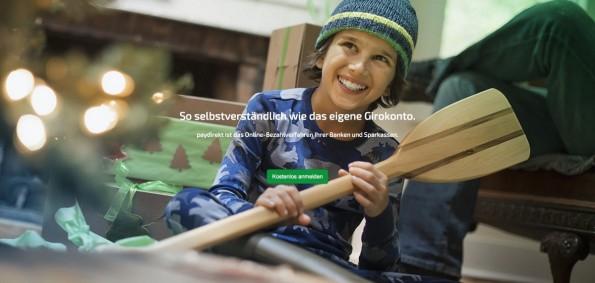 Paydirekt ist ein Gemeinschaftsprojekt der deutschen Kreditwirtschaft und soll PayPal Paroli bieten. (Screenshot: Paydirekt)