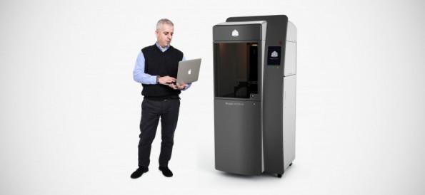 Auch bald von Canon in Deutschland vertrieben: der 3D-Drucker ProJet 6000 von 3D Systems. (Foto: 3D Systems)