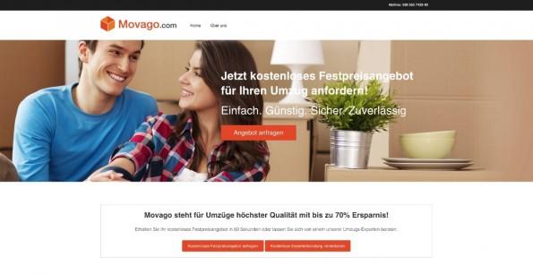 Startup-News: Movago hat eine Series-A-Finanzierungsrunde abgeschlossen. (Screenshot: Movago)