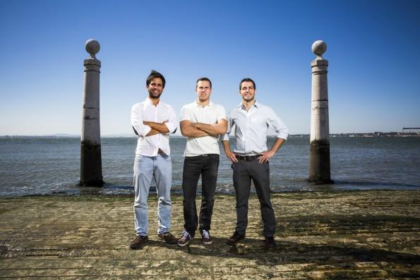 Das Gründerteam von Uniplaces. (Foto: Marisa Cardoso)