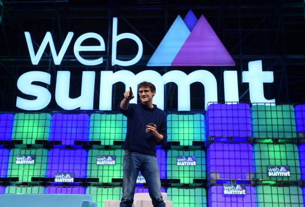 Gründer Paddy Cosgrave beim Web Summit 2015. (Foto: Web Summit)
