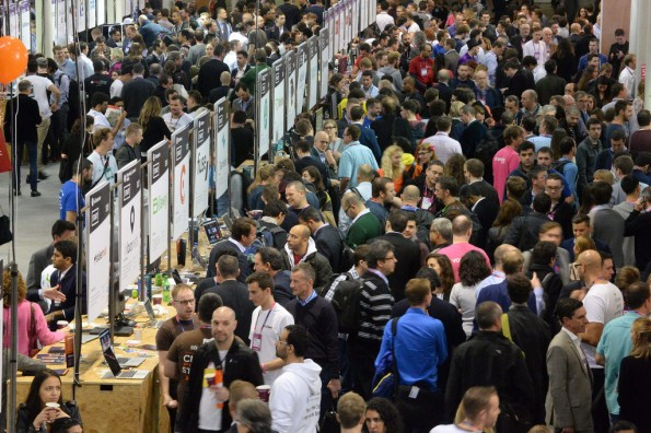 Der Startup-Bereich des Web Summit. (Foto: Web Summit)