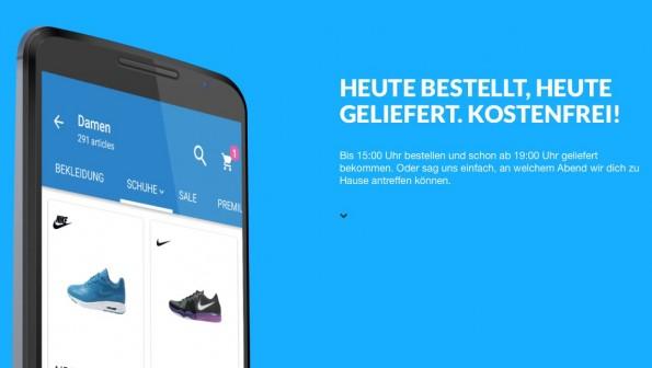 Screenshot: Zipcart