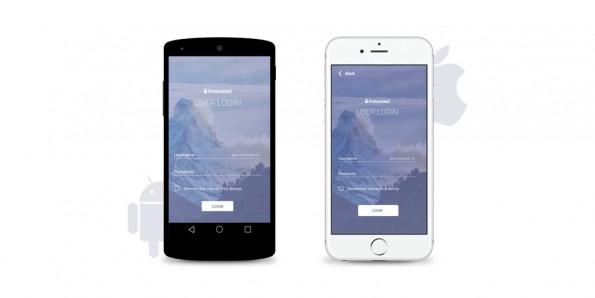 ProtonMail-Apps für iOS- und Android-Geräte. (Bild: Proton Technologies)