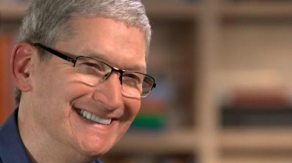 Apple-Chef Tim Cook hält an Verschlüsselung fest. (Foto: CBS News)
