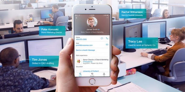 Auch LinkedIn will euch dabei helfen, eure Kollegen besser kennenzulernen. (Screenshot: LinkedIn)
