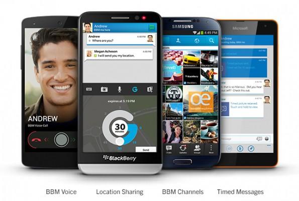 Blackberry hat mit seinem BBM 2.0 einen eigenen plattformübergreifenden Messenger im Angebot. (Bild: Blackberry)