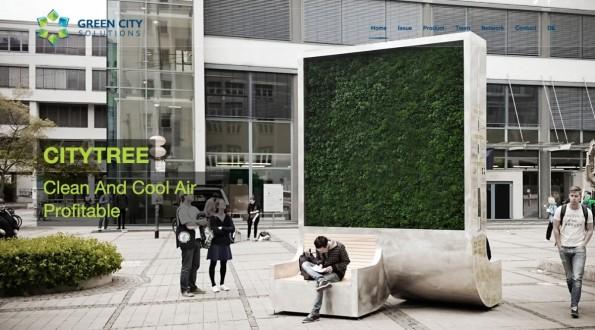 Green City Solutions will die Luft in Großstädten verbessern.