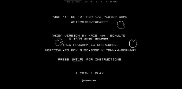 6. Ein Amiga-Emulator bringt dir Spiele-Klassiker nach Hause. (Screenshot: Scripted Amiga Emulator)