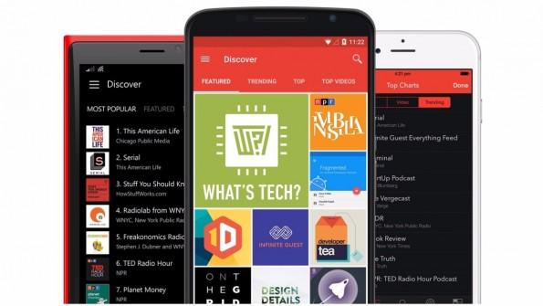 Pocket Casts ist derzeit eine der besten Podcast-Apps für Android. (Bild: Pocket Casts)
