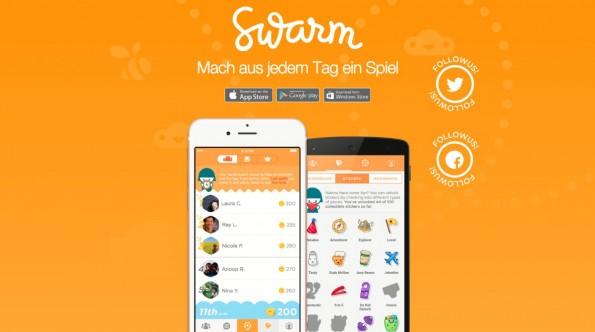 Bunt und verspielt: Swarm soll den Nutzern vor allem Spaß bereiten.