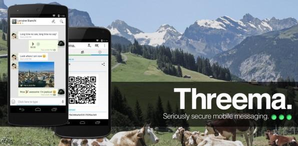 Threema gilt als eine sichere WhatsApp-Alternative. (Bild: Threema)