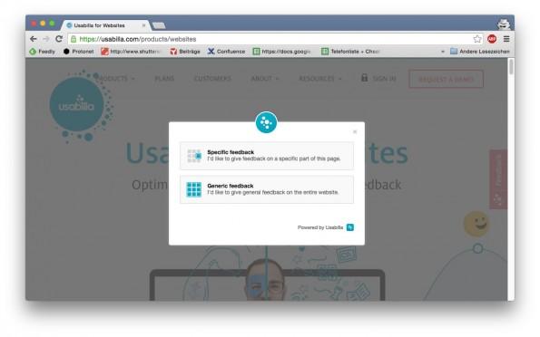 website feedback usabilla 2
