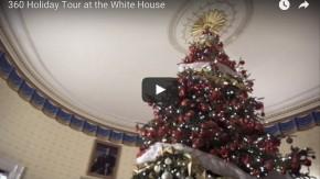 360-Grad-VR-Video-Tour: So schön sieht das Weiße Haus während der Weihnachtszeit aus