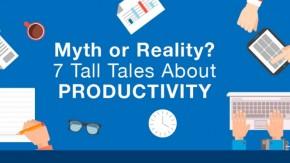 7 Mythen über Produktivität – und was euch wirklich effizienter macht [Infografik]