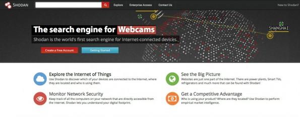 Suchmaschine Shodan durchforstet das Internet der Dinge. (Screenshot: Shodan.io)