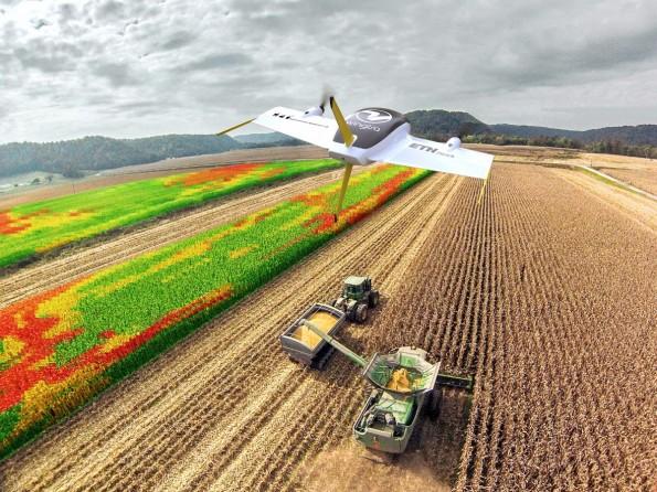 Einer der Aussteller im Dronen-Bereich: Das ETH-Spinoff Wingtra. (Foto: Wingtra)