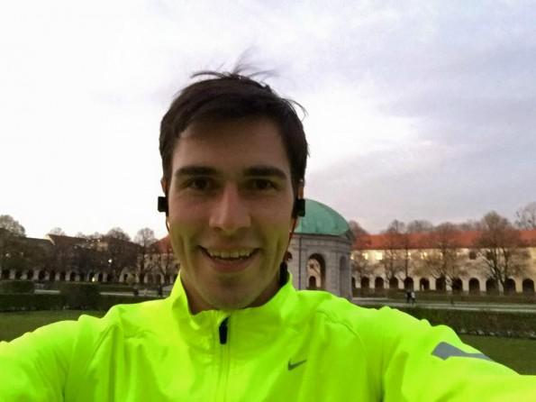 Raus aus den Federn, rein in die Laufschuhe: Die frühen Morgenstunden nutzt Andreas Bruckschlögl für eine erste Laufeinheit. (Foto: Andreas Bruckschlögl/Facebook)