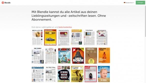 Bei Blendle zahlen Nutzer pro Artikel. (Screenshot: Blendle)