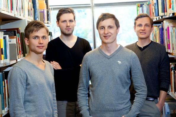 Das Gründerteam von Blinkist. (Foto: Presse)