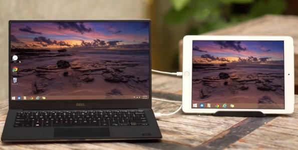 Der mobile Design-Workflow kann auch von einer Second-Screen-App wie Duet Display profitieren. (Bild: Duet Display)