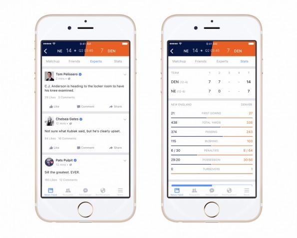 Facebook Sports Stadium ist eine Anlaufstelle für Sport-Fans. (Screenshot: Facebook)