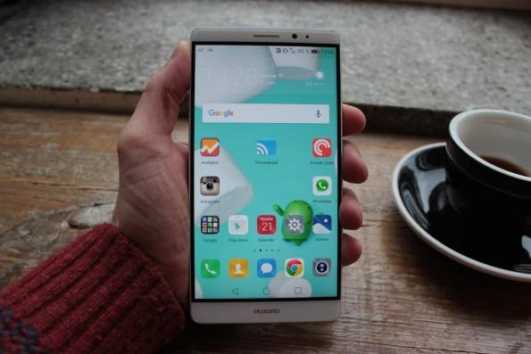 Huawei Mate 8 – großer Brocken, dicker Akku. (Foto: t3n)