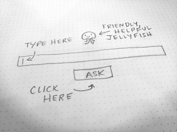 Für Nutzer vertraut: Die Oberfläche von Jelly orientiert sich an der bekannter Suchmaschinen. (Foto: Jelly)