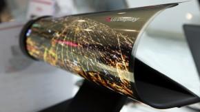 LG zeigt OLED-Display – aufrollbar wie eine Zeitung [CES 2016]