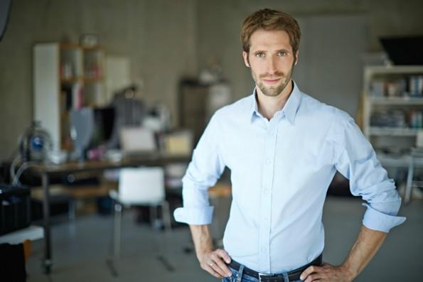 Arzt und Unternehmer: Johannes Jacubeit will mit einer App die Arztpraxen digitalisieren. (Foto: Presse)
