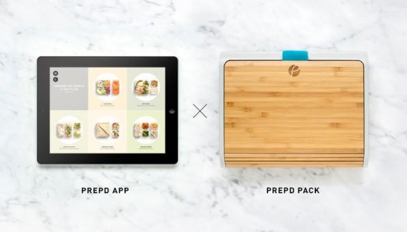 Gesünder Essen: Diese smarte Lunch-Box hilft dir, dein Ernährungsziel zu erreichen. (Grafik: Prepd Pack)